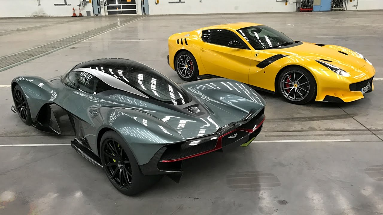Exclusive Access To The Worldu0027s Best Cars With British GQ   Aston Martin  Nebula, F12 TDF