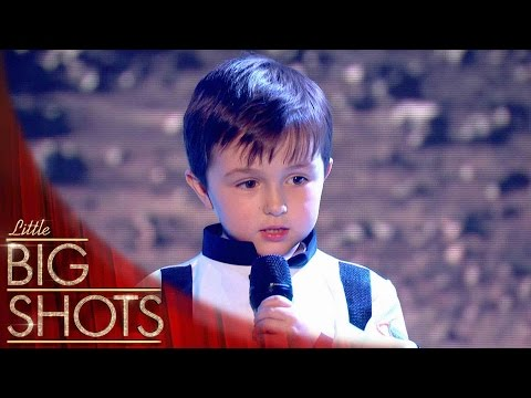 The Cutest Space Oddity Cover You'll Ever Hear!   Little Big Shots