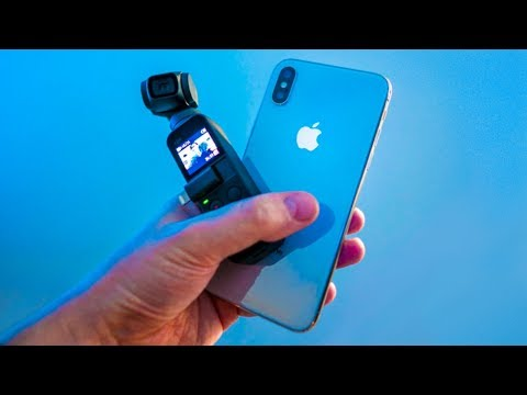 DJI Osmo Pocket Vs IPhone X | VLOG Camera Showdown: Which Is Better?