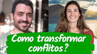 COMO TRANSFORMAR CONFLITOS? com Renata Mendes   Vida Veda Entrevista