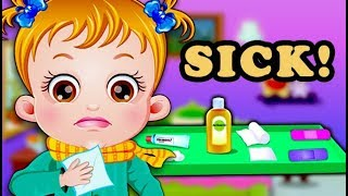 Baby Hazel Goes Sick By Topbabygames