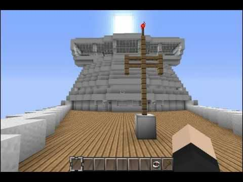 Minecraft: Osprey - Cruise Ship (Tour) - YouTube