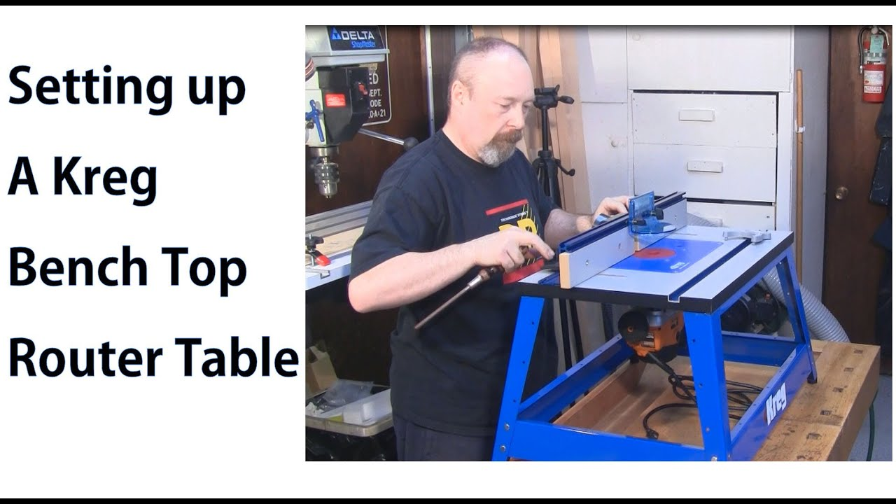 Kreg Bench Top Router Table Assembly - Woodworkweb - YouTube