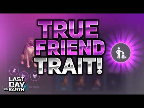 HOW TO GET TRUE FRIEND TRAIT PET DOG! - Last Day On Earth: Survival