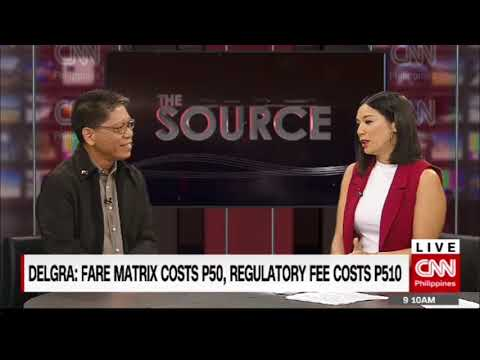 'The Source' speaks to LTFRB chairman Martin Delgra