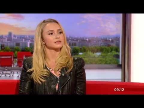 Hayden Panettiere Interview BBC Breakfast 2013