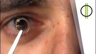 Ilyen lesz a jövő kontaktlencséje? (KiberMa 85. adás)