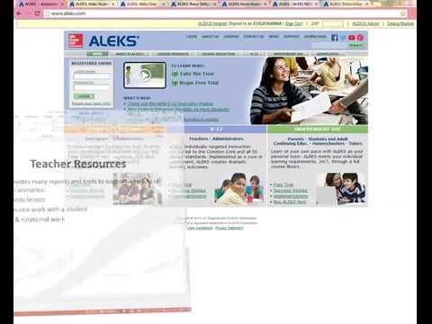 ALEKS® Math: Skill Building Using Adaptive, Differentiated Learning