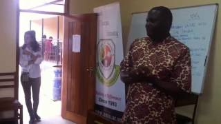 NUCAFE ED Joseph Nkandu's acceptance Speech for Patron for EEF