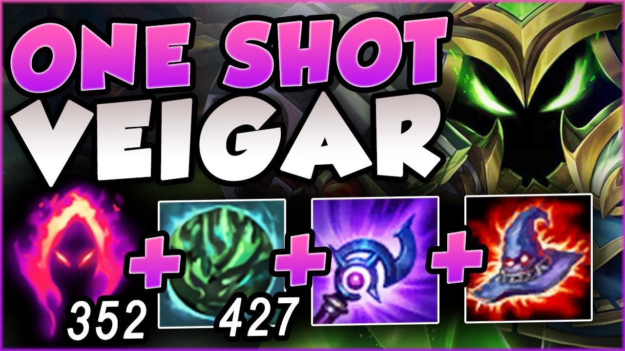 Highest Burst Damage Unlocked 1800 Ap One Shot Veigar Season 8 Top Gameplay League Of Legends Youtube