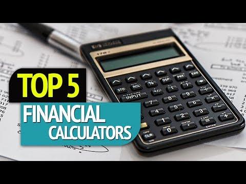 TOP 5: Financial Calculators 2018