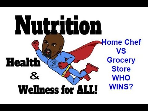 Home Chef Special Report Vs Grocery Store | Nutrition - Health & Wellness for ALL