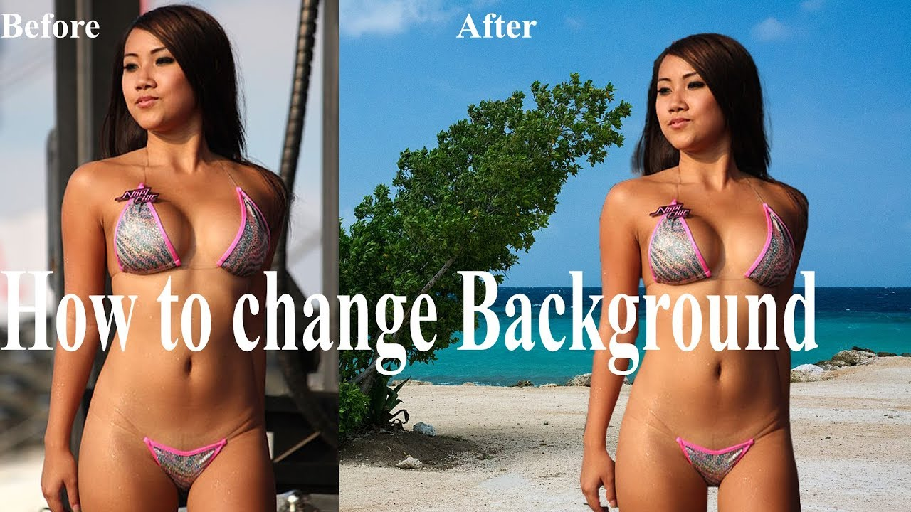 how to change background in photoshop #Photoshop tutorial 3