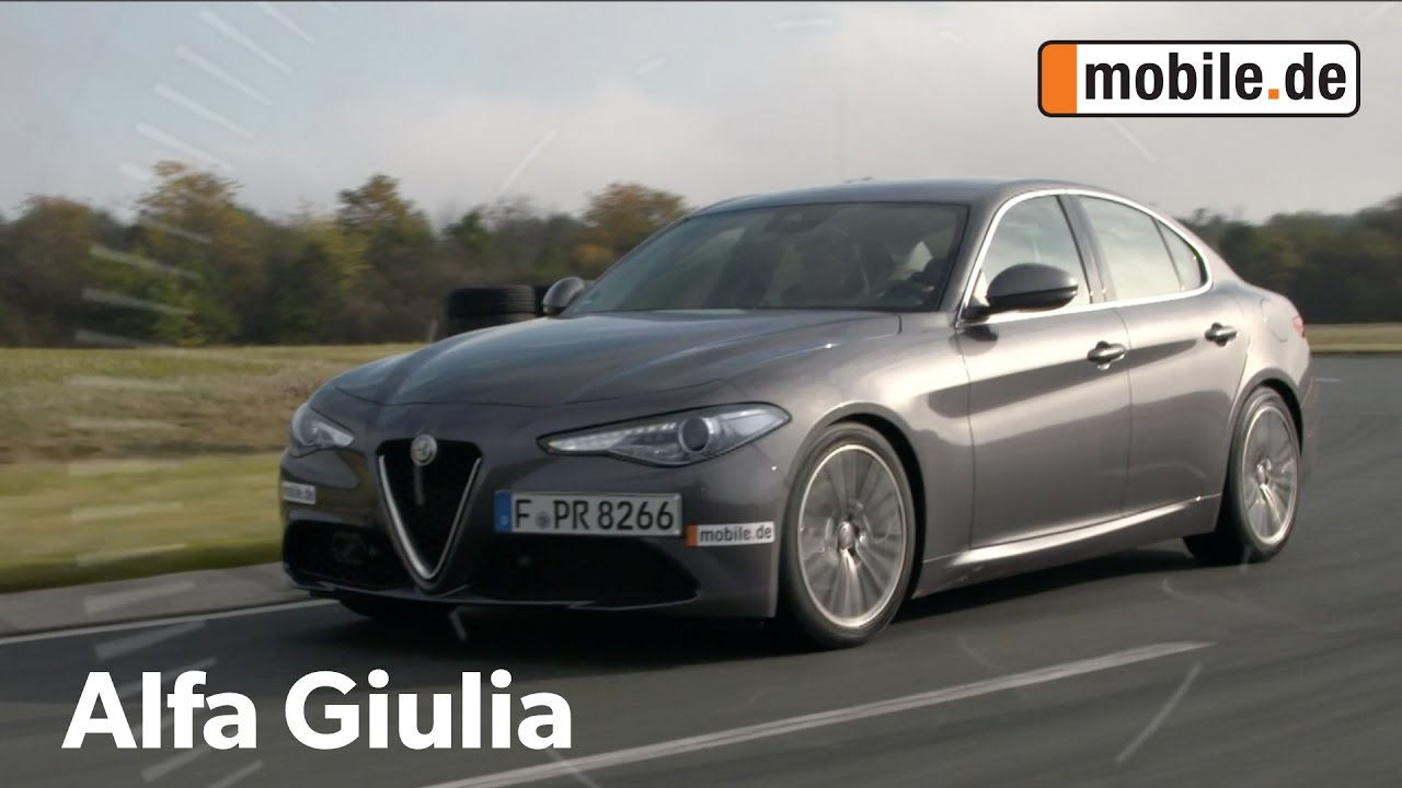 alfa romeo giulia typ 952 ab 2016 im auto test bei youtube. Black Bedroom Furniture Sets. Home Design Ideas