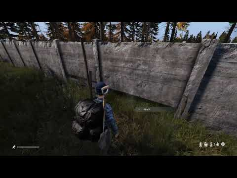 Dayz- How to build fence / Gate