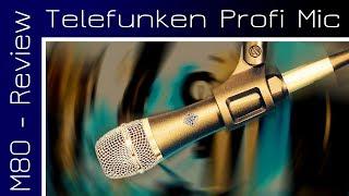 Telefunken M80 Mikrofon Test: Klassischer Hersteller, moderne Technik!