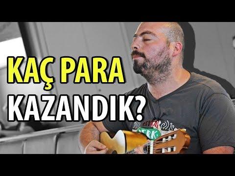 Vapurda Sokak Müzisyenliği Yaptık - Kaç Para Kazandık?