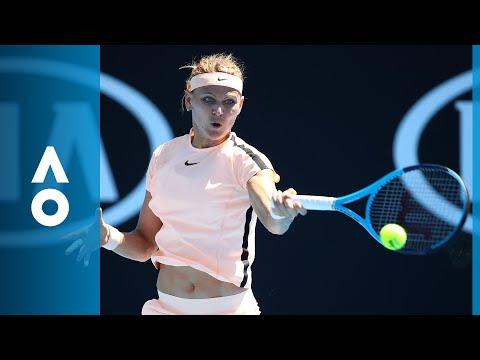 Lucie Safarova v Ajla Tomljanovic match highlights (1R) | Australian Open 2018