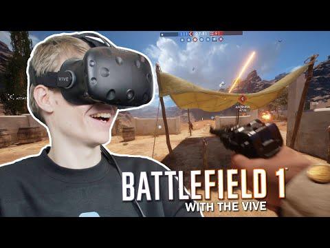 BATTLEFIELD IN VIRTUAL REALITY | Battlefield 1 VR (HTC Vive Gameplay)