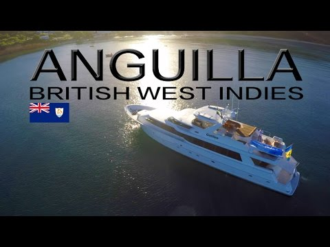 Yachting in ANGUILLA BWI ~ Epic Footage ~ Motor Yacht Galilee ~ WeBeYachting.com
