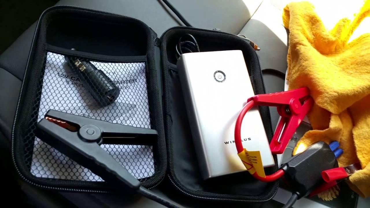 Car Jump Pack >> Jump Start My Honda Civic EXL w/WINPLUS Mini Li-Ion