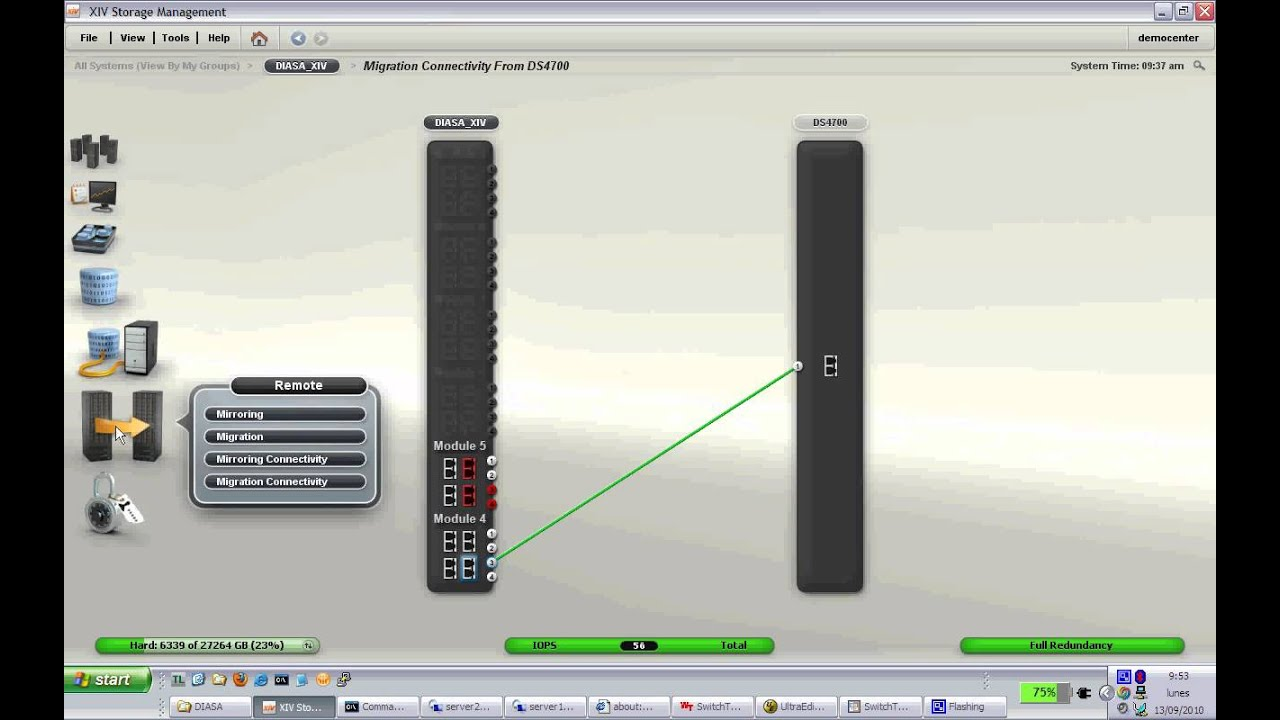 IBM XIV Data Migration demo - YouTube
