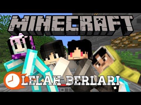 LARI TELEPORT?! ft. 4Brother   Minecraft Indonesia Mario Kart #2