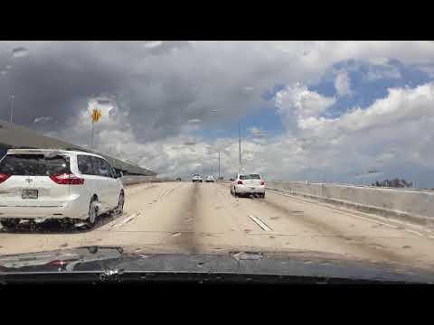 Miami, FL. Driving from Dania Beach to lauderhill