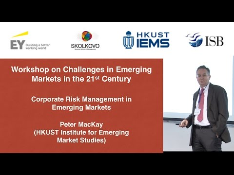 Peter MacKay: Corporate Risk Management in Emerging Markets
