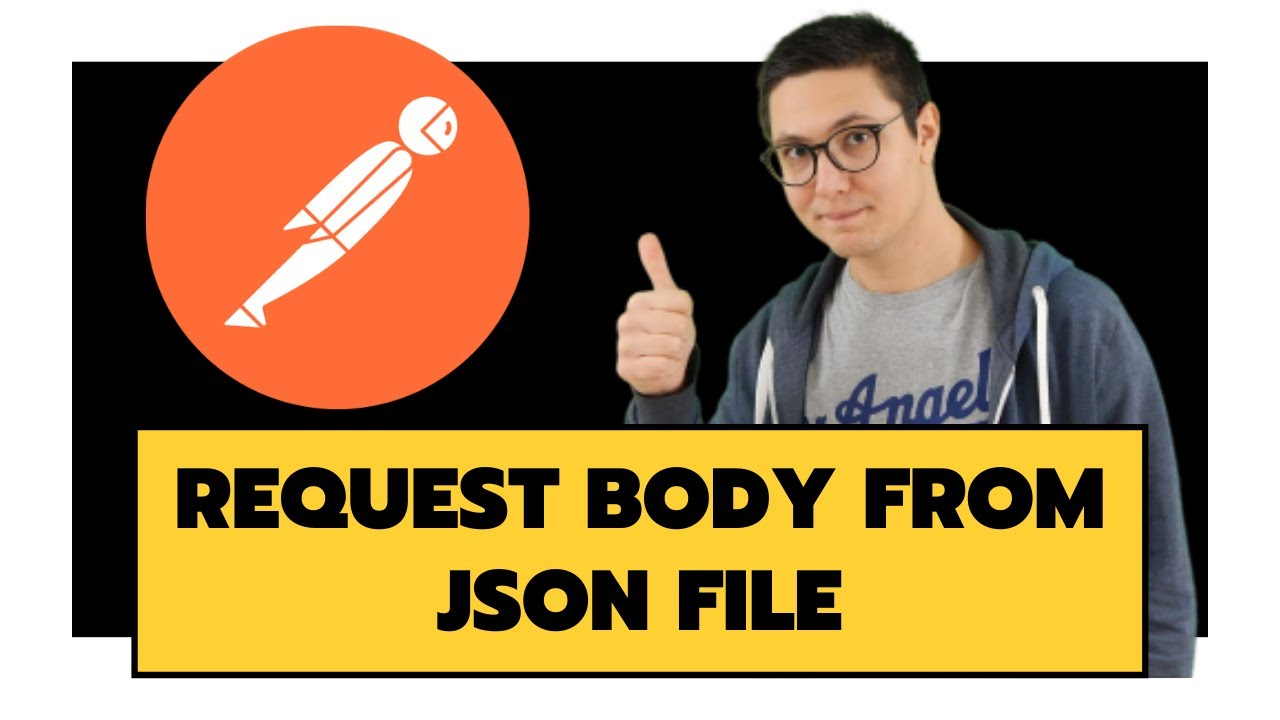 Set the JSON body from an external JSON file in Postman
