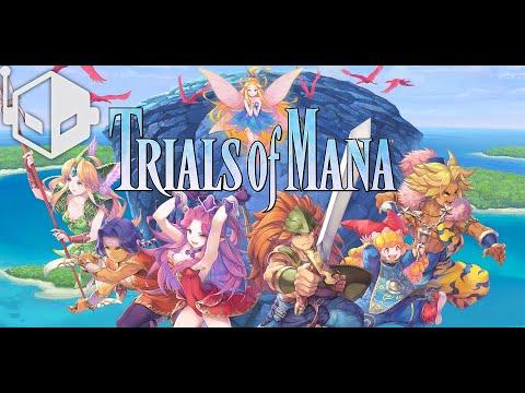 Trials of Mana Black Rabite Secret Boss Fight Gameplay [PS4 Pro]