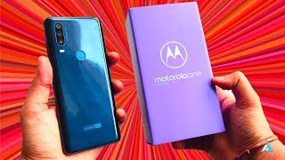 Motorola Moto One ACTION UNBOXING and HANDS ON experience!