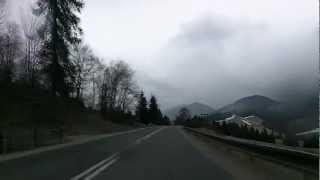 Slovakia: driving to Poprad by the High Tatras