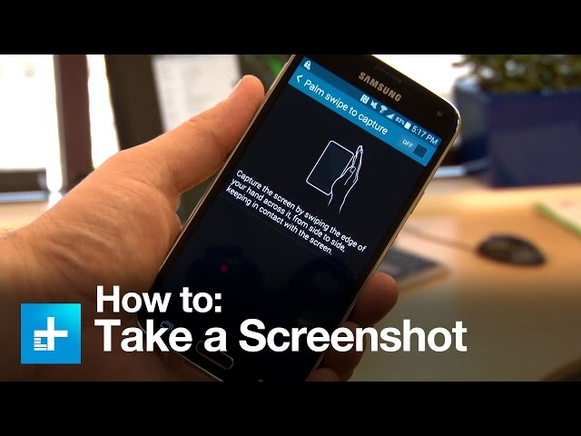 How To Take Screenshots On Samsung Galaxy With Your Palm 8 Steps