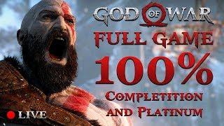 GOD OF WAR 4 (2018) | 100% Completition #7 (Got Platinum)