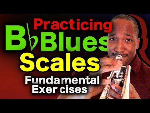 Bb Blues Progression Scales Jazz Trumpet Lesson