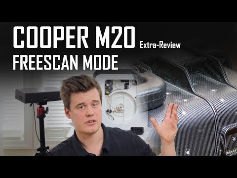 Cooper M20 3D scanner - FreeScan (mode) review