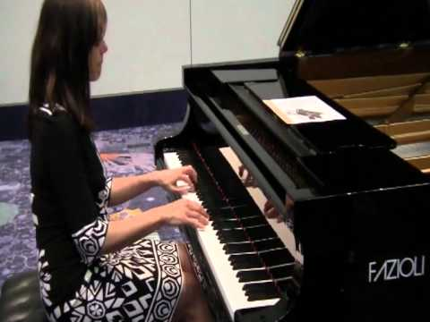 Namm 2011 Fazioli Piano 6