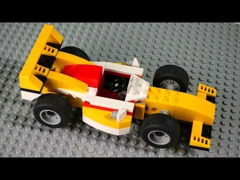 Как сделать из лего гоночную машину своими руками
