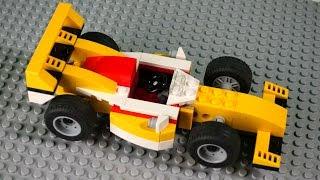Собираем гоночную машину. Мультфильм из конструктора Лего. Видео для детей.(Собираем гоночную машинку из Лего. Стив и Том выбирают какую гоночную машину Lego они будут собирать для гонк..., 2015-12-25T11:47:59.000Z)