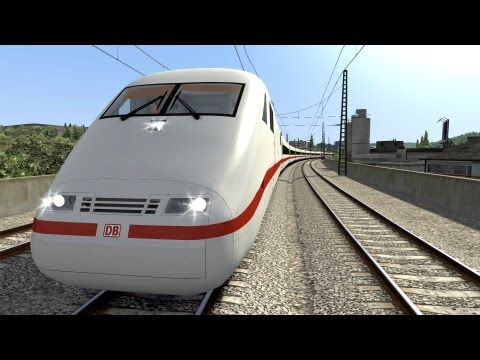 LET´S PLAY Train Simulator 2012 Folge 19 Hagen-Siegen ICE 1