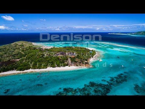 Sir Richard Branson's Necker Island - Caribbean Drone Tour