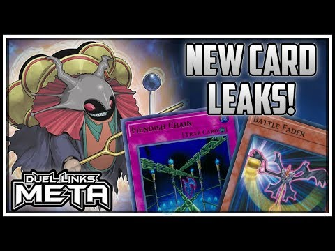 NEW Card Leaks Fiendish Chain Battle Fader And more Yu-Gi-Oh Duel Links