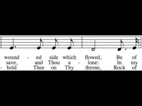 Rock of Ages - Alto Only - Learn How to Sing Hymns