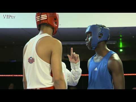 Subhaan Khailiq v Edward Gomez NWR Youth 81kg Final