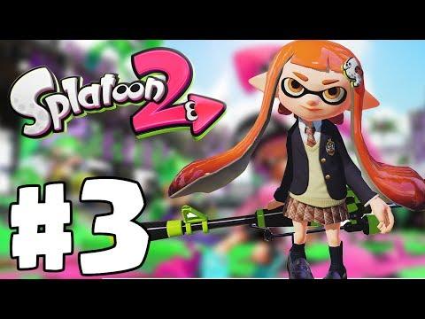 Splatoon 2 | Gameplay Part 3 (Nintendo Switch) | Splat Charger New Sniper Unlocked!
