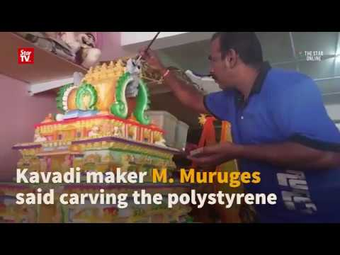 Kavadi replicating temple entrance set to stand out