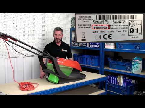 Flymo Lawn Mower Spares - How to find your Model Number