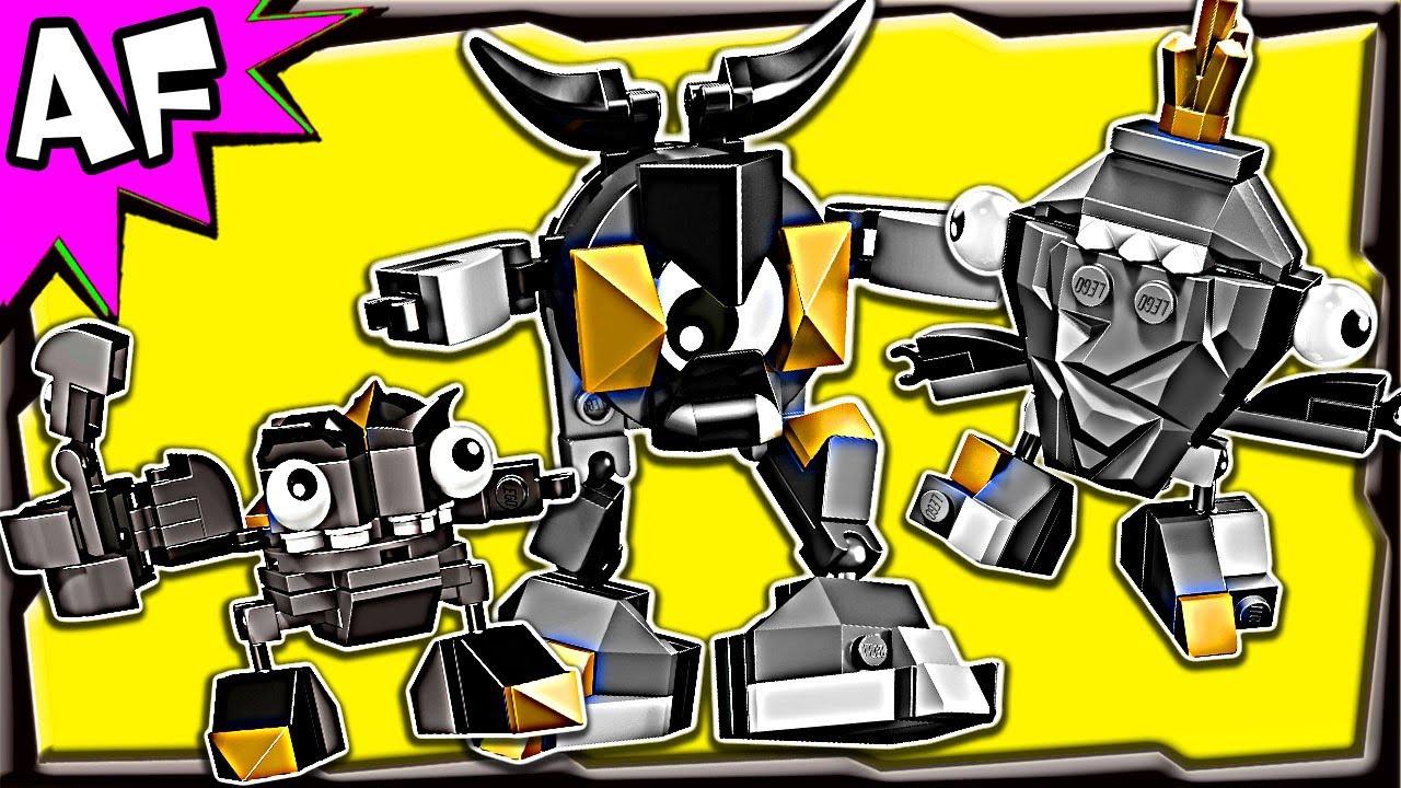 Lego Mixels CRAGSTERS Series 1: Krader, Seismo & Shuff ...  Lego Mixels CRA...