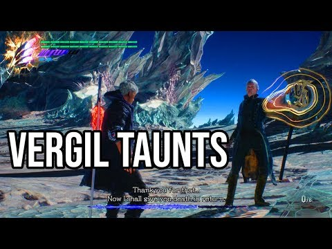VERGIL TAUNTS BACK! - Devil May Cry 5 Hidden Easter Egg (Final Boss/Dante Must Die/S Rank) thumbnail